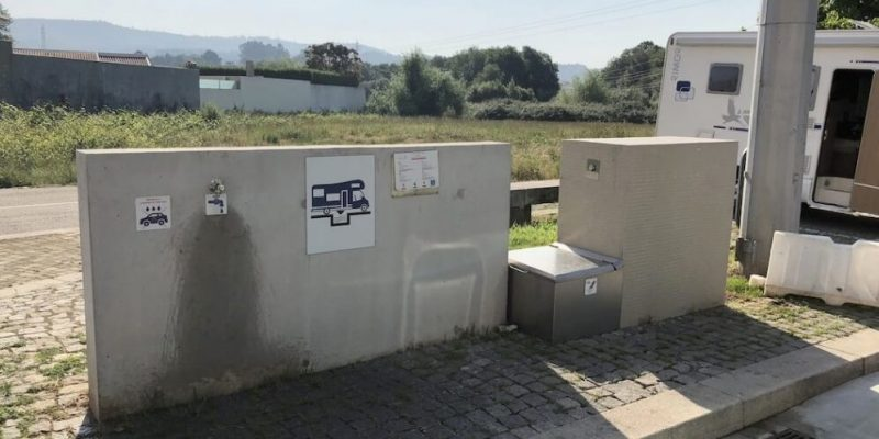 dumping station for portable toilets - portable toilet waste disposal