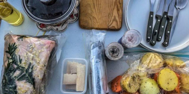 ingredients for roast lamb