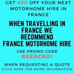 GET €50 OFF YOUR NEXT MOTORHOME HIRE IN FRANCE PROMO CODE BEERCROI FOR BEST CAMPING TOILET