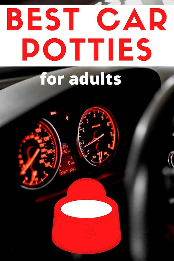 car potty for adults road trips