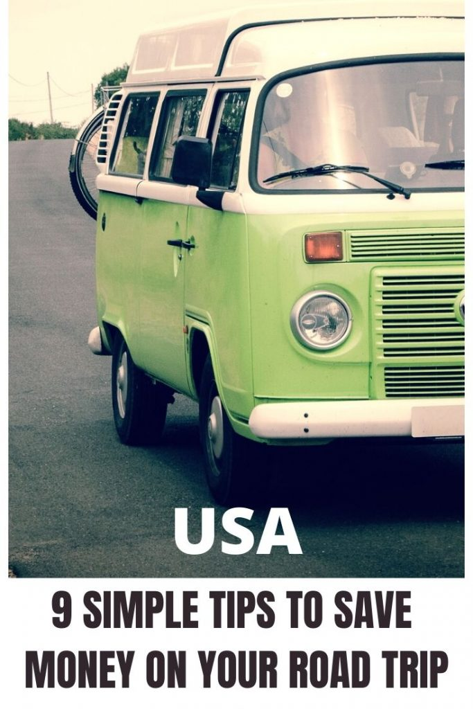 road trip USA tips and hacks for road tripping
